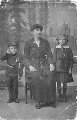 My Grandfather with kid uniform
