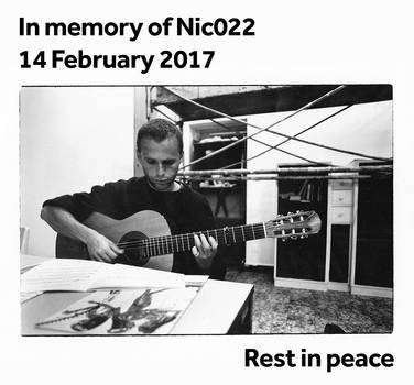 In memory of Nic022 by nic022