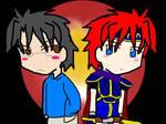 Jun Sakurada and Roy