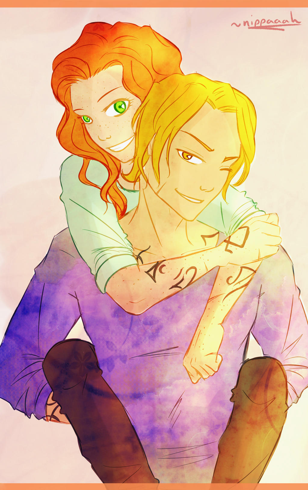 Meet Clary Fray - Not Your Ordinary New Yorker  |Jace And Clary Fan Art Tumblr