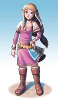 Zelda by Raijin-Pooch