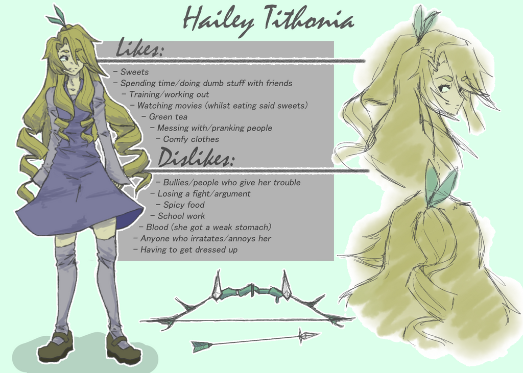Hailey Reference Sheet by leafpoolTC