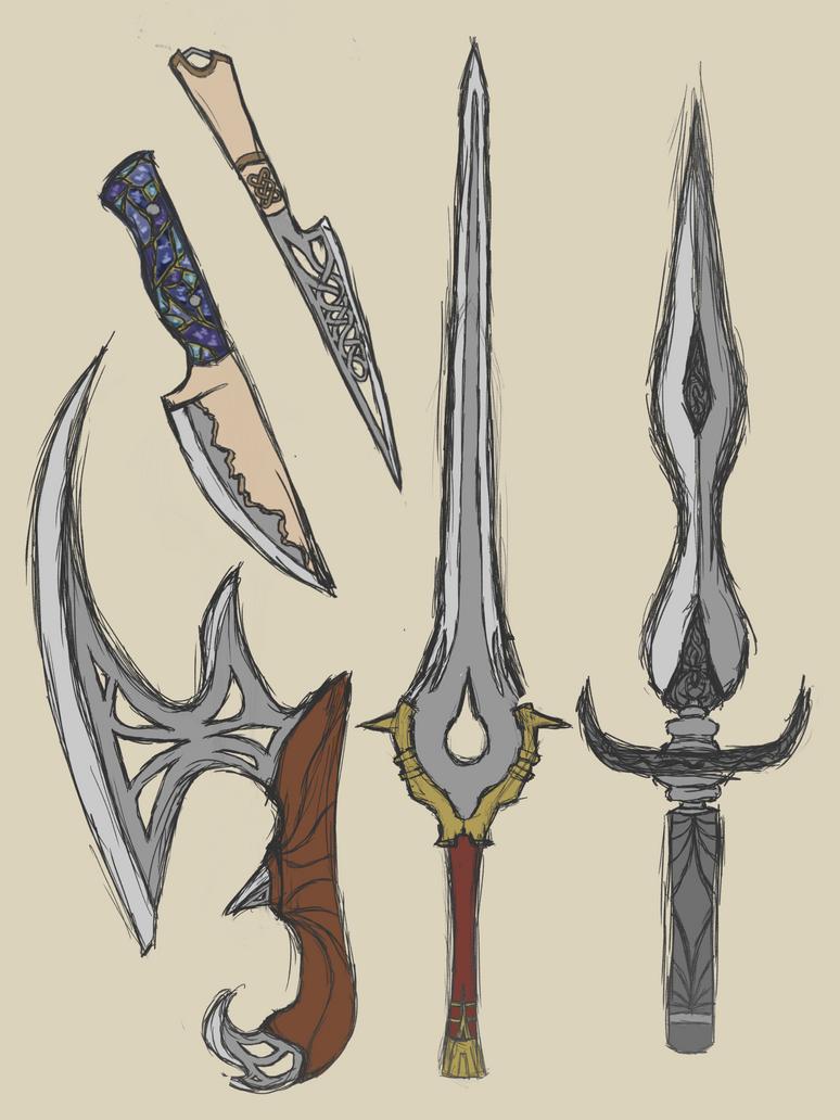 Swords N' Stuff by leafpoolTC