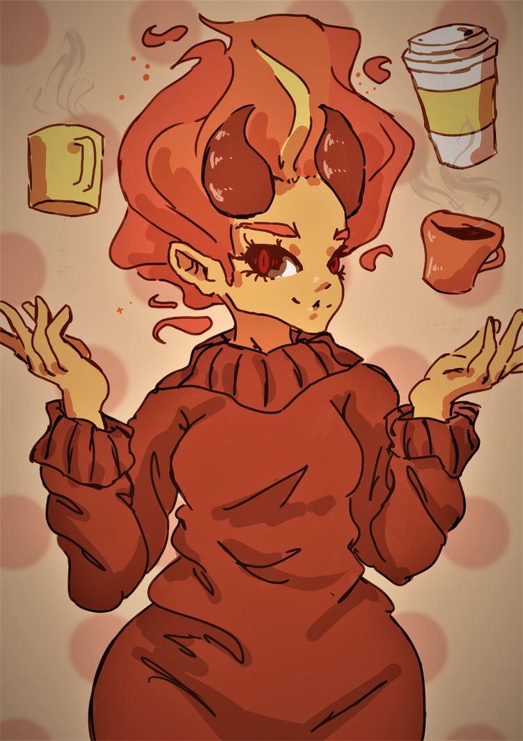 Autumn Demon by leafpoolTC