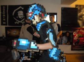 Mega Man X Cosplay part 2