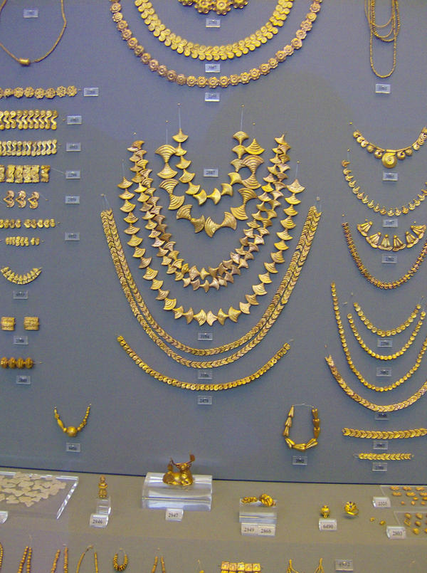 Golden Greek Jewelry 1 by SnailLadyStocks