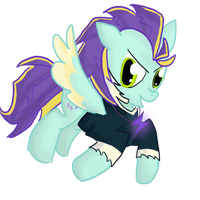 MLP Fusion #4 : Lighting Dusk + Zapp by LAuthheure