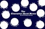 Character Sheet Meme-Blank
