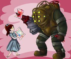 A Bioshock Valentine by Oteibilitz