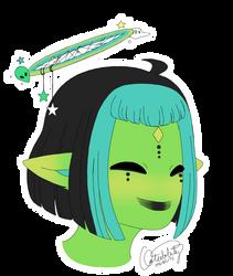 A Pleased Alien