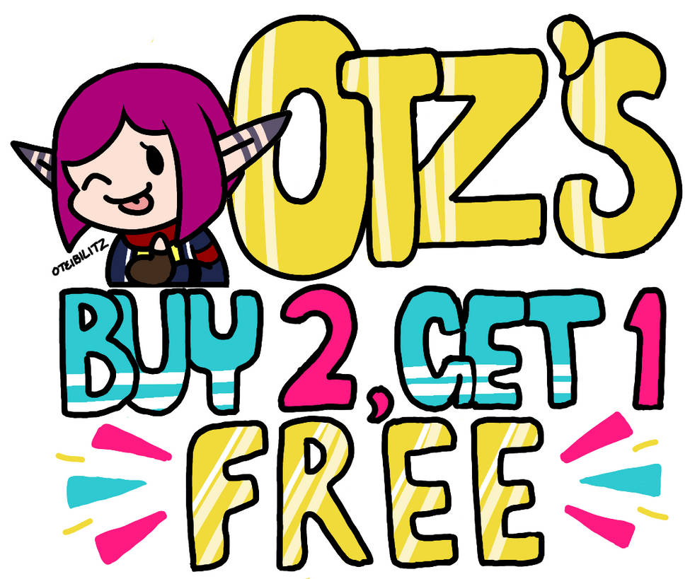 Flash Commission Sale: Buy 2 Get 1 Free! Ends 8/1