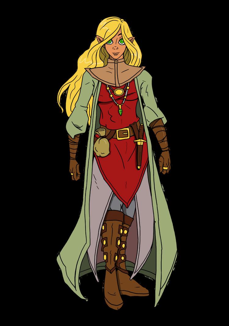 Anaroriel High Elf Wizard by CandyKappa