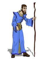 Findar the Wizard by CandyKappa