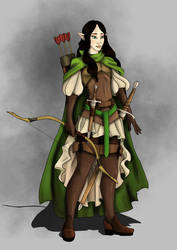 Nym the Rogue ADnD 2nd by CandyKappa