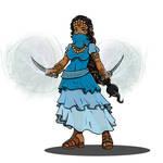 Rhazya - Halfling Sorcerer