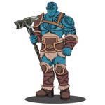 Aukan - Goliath Warden