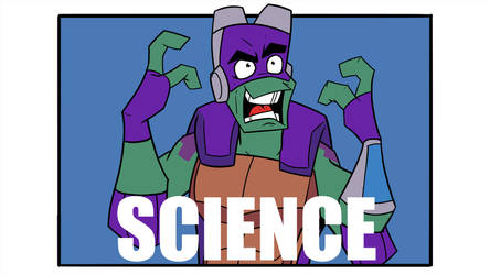 Rise of TMNT Donnie - SCIENCE