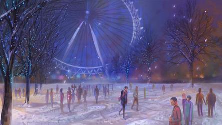 C : London Eye