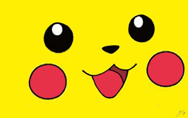Pikachu Face Wallpaper by thebassdude15Pikachu Face Wallpaper