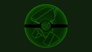 Cyber Porygon Glass Pokeball by ExcaliburZero