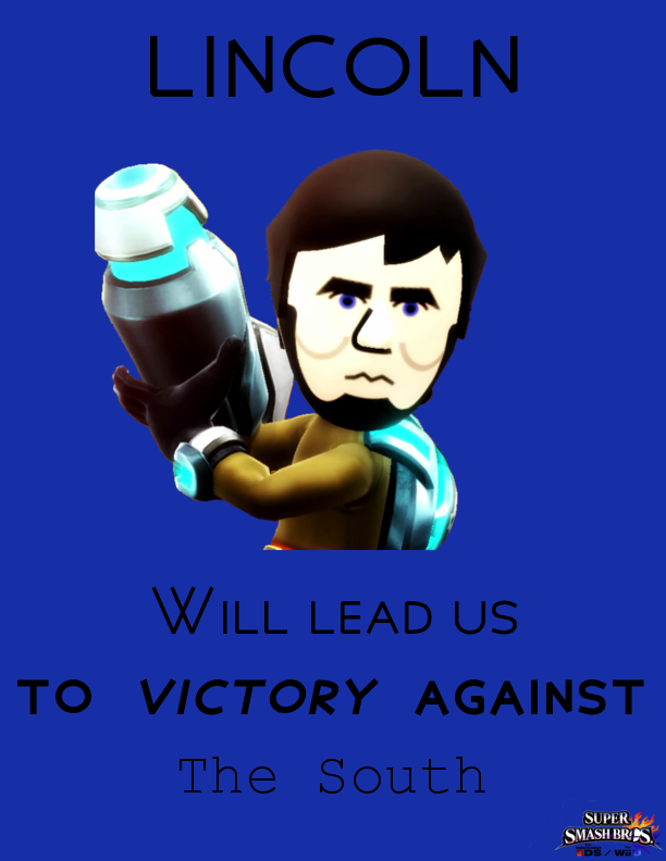 Abraham Lincoln Motivational Poster Ssb4 By Excaliburzero
