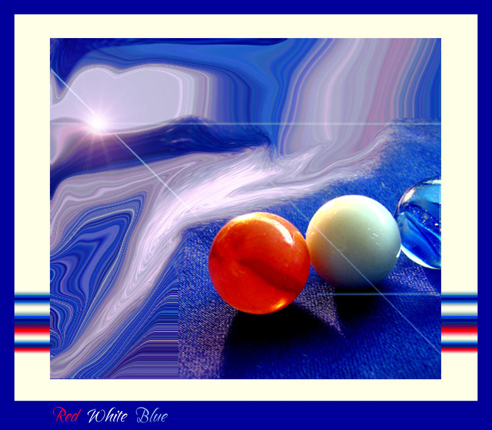 Red White Blue by Buble