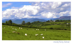 County Kerry  landscape Ireland
