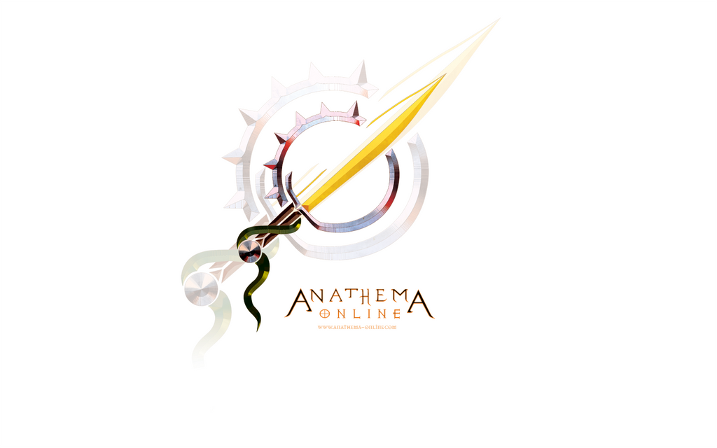 AO: Logo Wallpaper White by Khalo