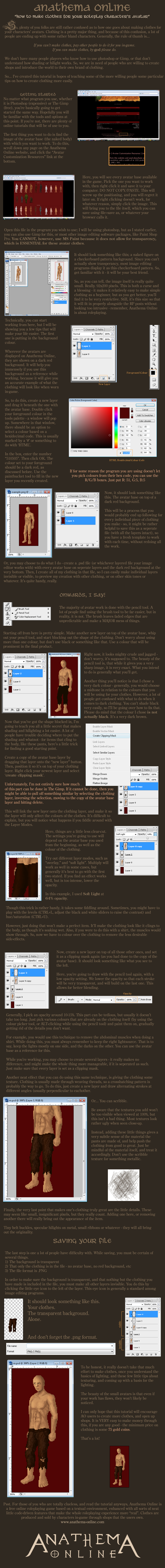 AO: Avatar Creation Tutorial by Khalo