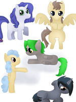 Adoptable ponies (1 and 4 OPEN)