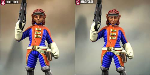Hero Forge Delta Pryde 2.0