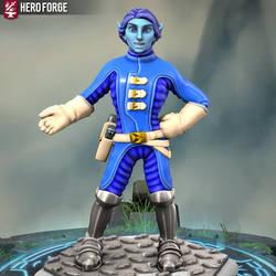Hero Forge Majorelle Blue