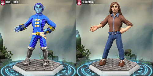 Hero Forge:Majorelle / May