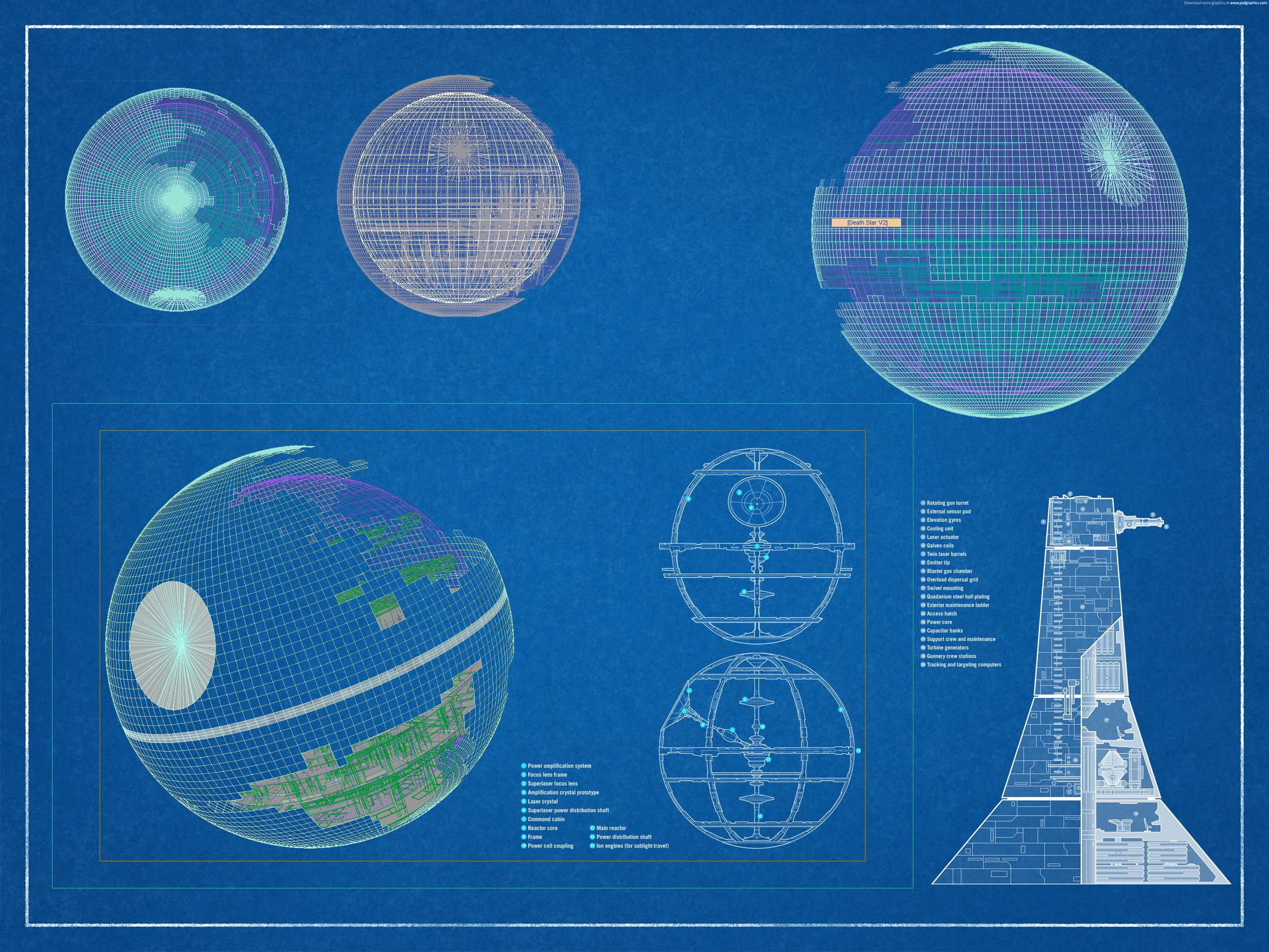 Death Star V2 Schematics