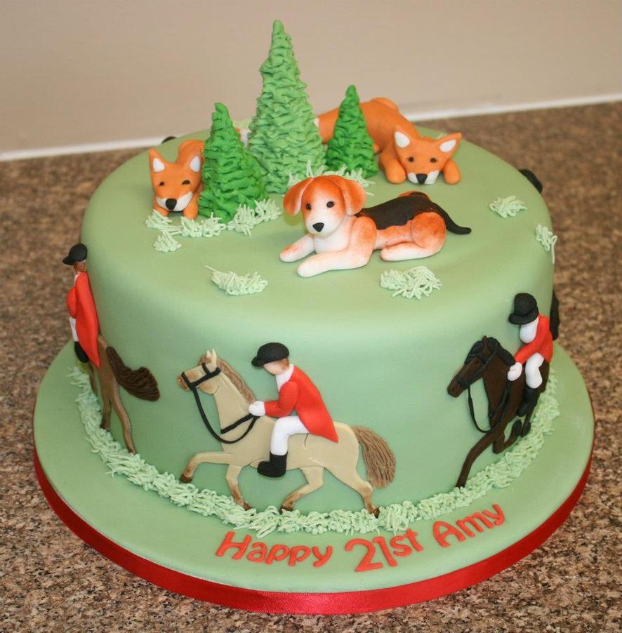 Fox Hunting Cake Ideas