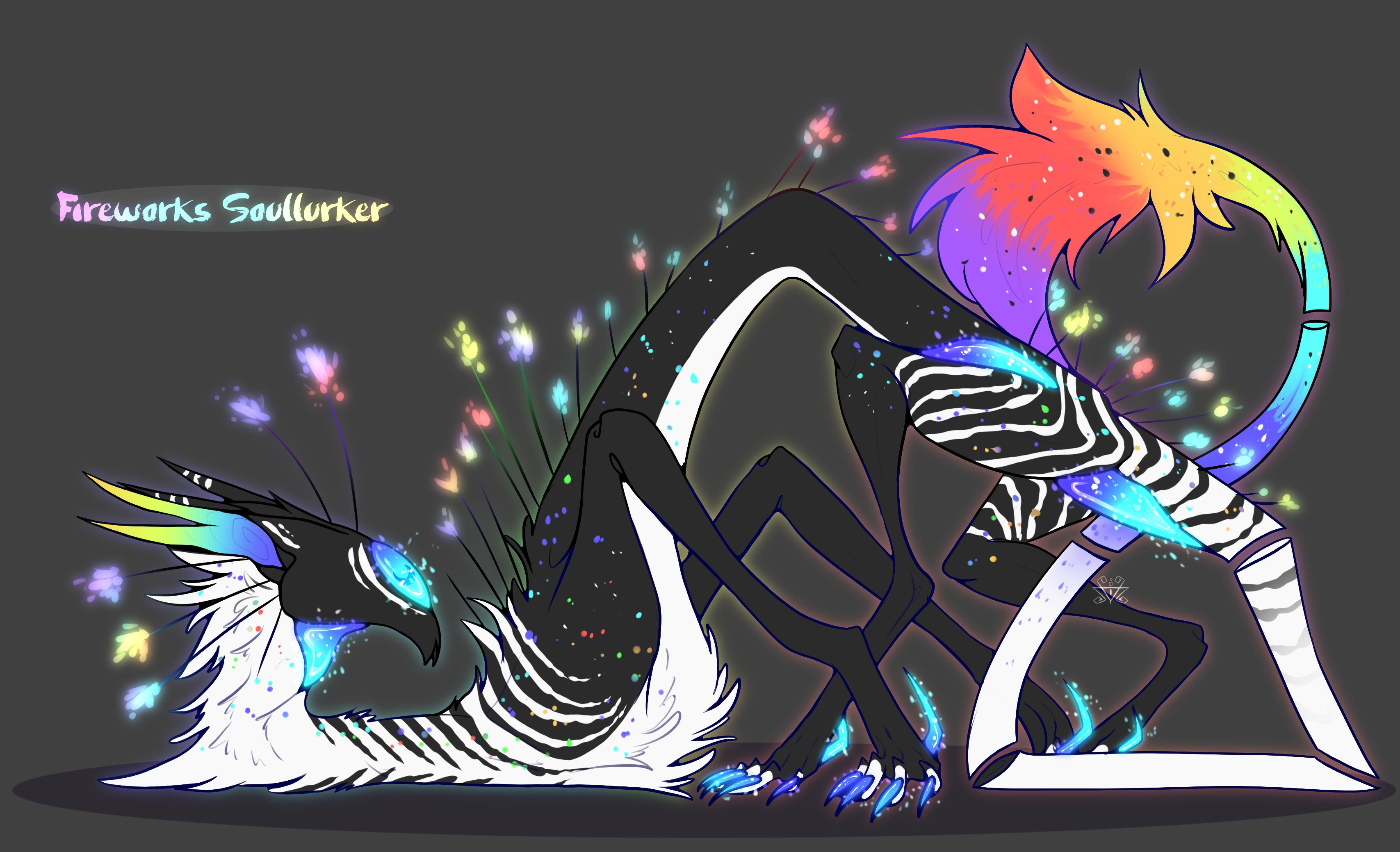 Fireworks! Soullurker: CLOSED by EVR4H