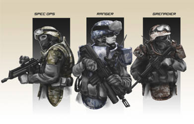 Near Future Infantry