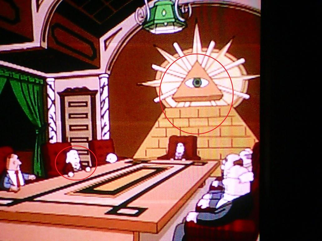 illuminati subliminal messages in disney - photo #16