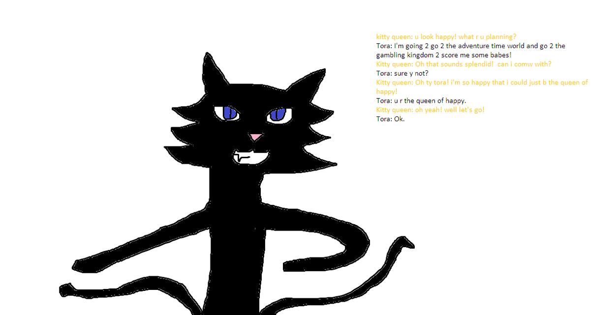 tora and HFKQ talk by Madam--Kitty