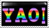 Rainbow Yaoi stamp by Madam--Kitty