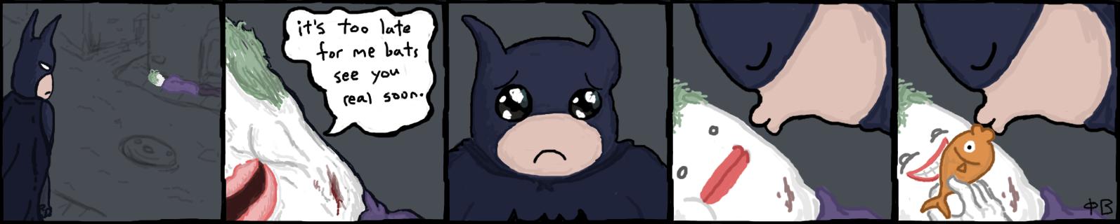 PC#003 - Batman by Pentagramb