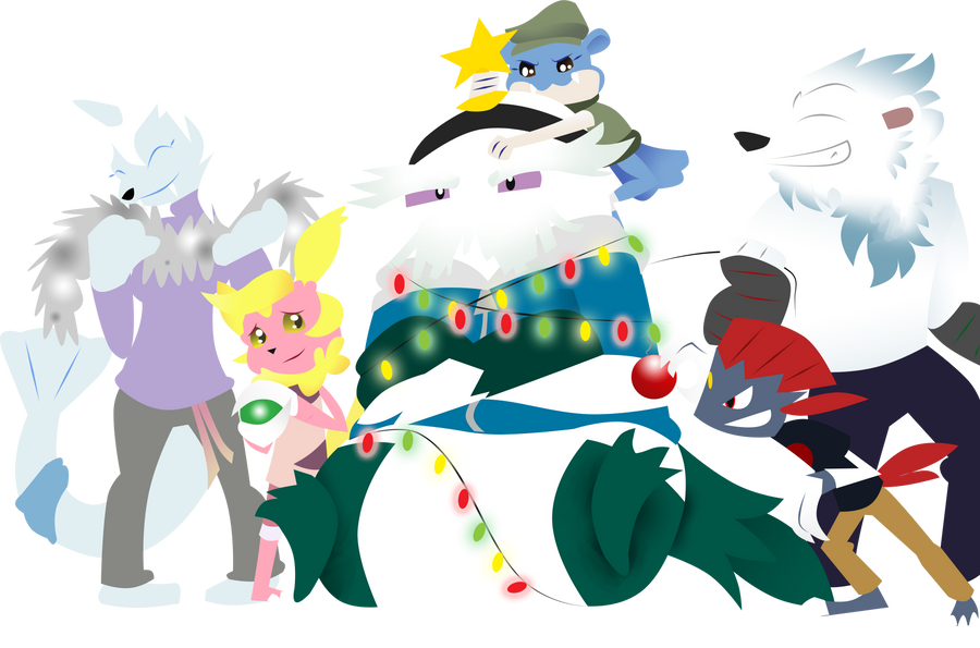 Pkmn Armonia Rockin Around The Christmas Tree By Sweetkimothy On