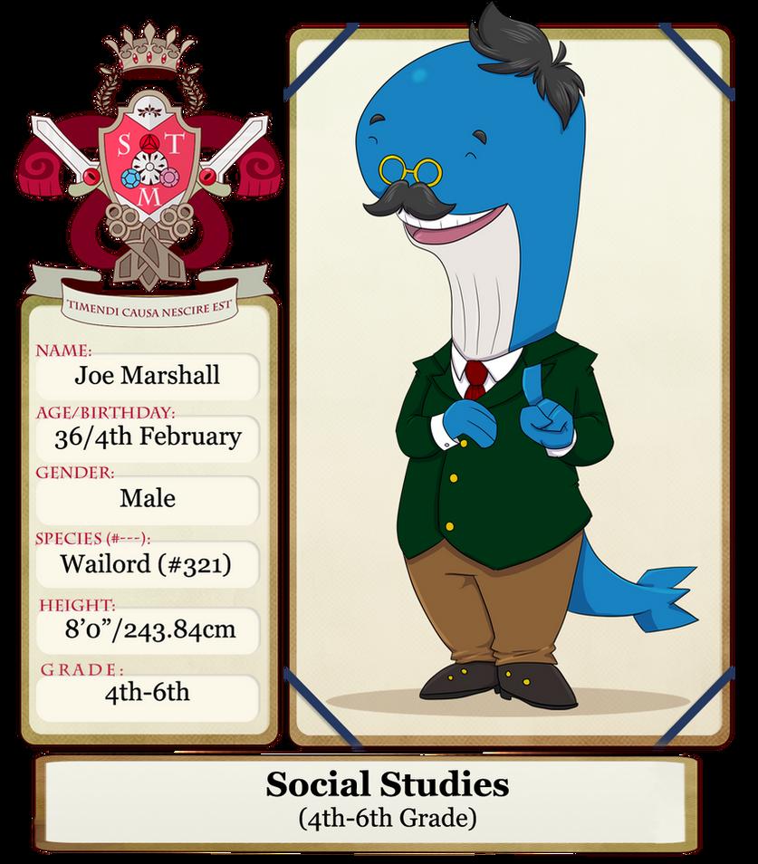 St Mortiel: Professor Marshall by sweetkimothy