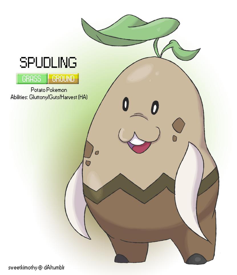 Pokemon Albion Region: #??? Spudling by sweetkimothy