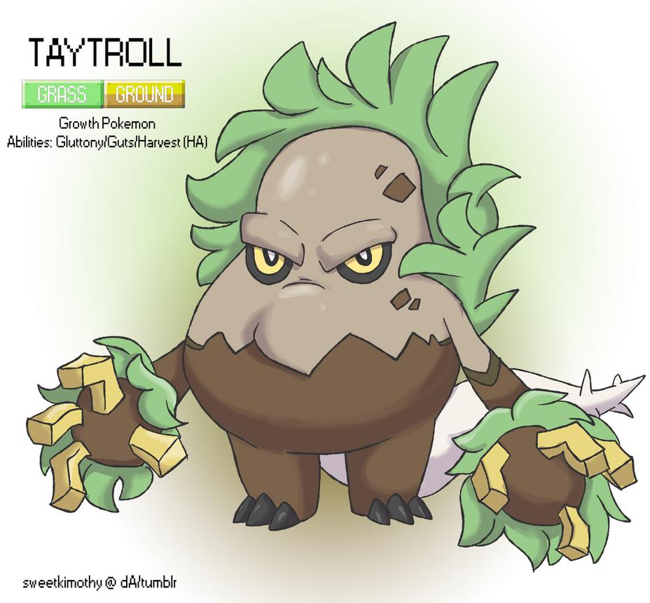 Pokemon Albion Region: #??? Taytroll by sweetkimothy