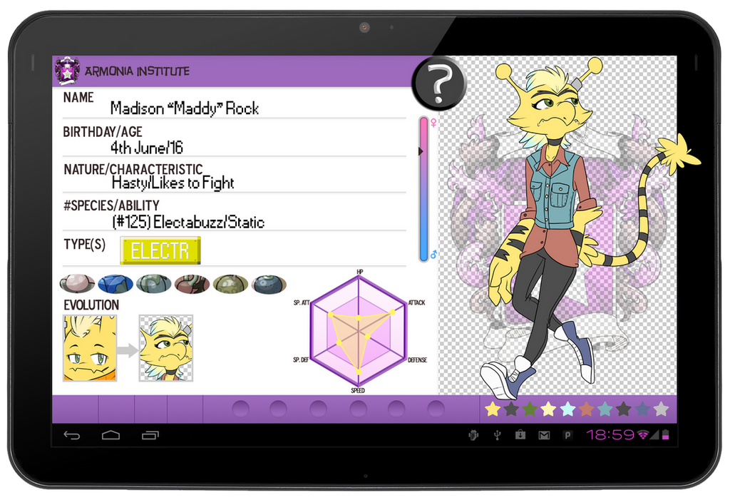 PKMN-Armonia App: Maddy by sweetkimothy