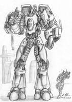 Tau Hammerhead Transformer by tyrantwache