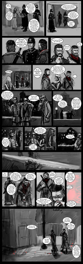 Vampyr 40k Crossover Comicstrip part 6