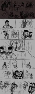 Vampyr 40k Crossover Comicstrip part 9 WIP