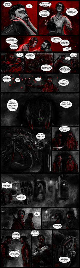 Vampyr 40k Crossover Comicstrip part 14